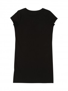 Vestito t-shirt black