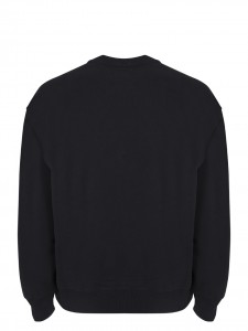 B-AROSA CREW SWEAT BLACK