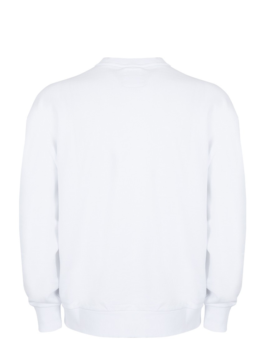 B-AROSA CREW SWEAT WHITE