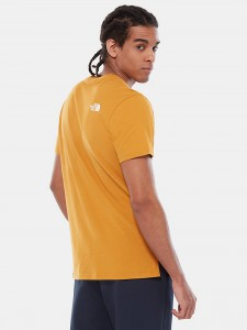 THE NORTH FACE FINE 2 TEE CITRINE YELLOW