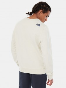 THE NORTH FACE DREW PEAK CREW VINTAGE WHITE