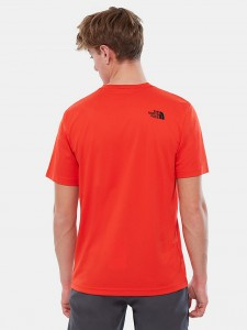 THE NORTH FACE FLASH TEE FIERY RED