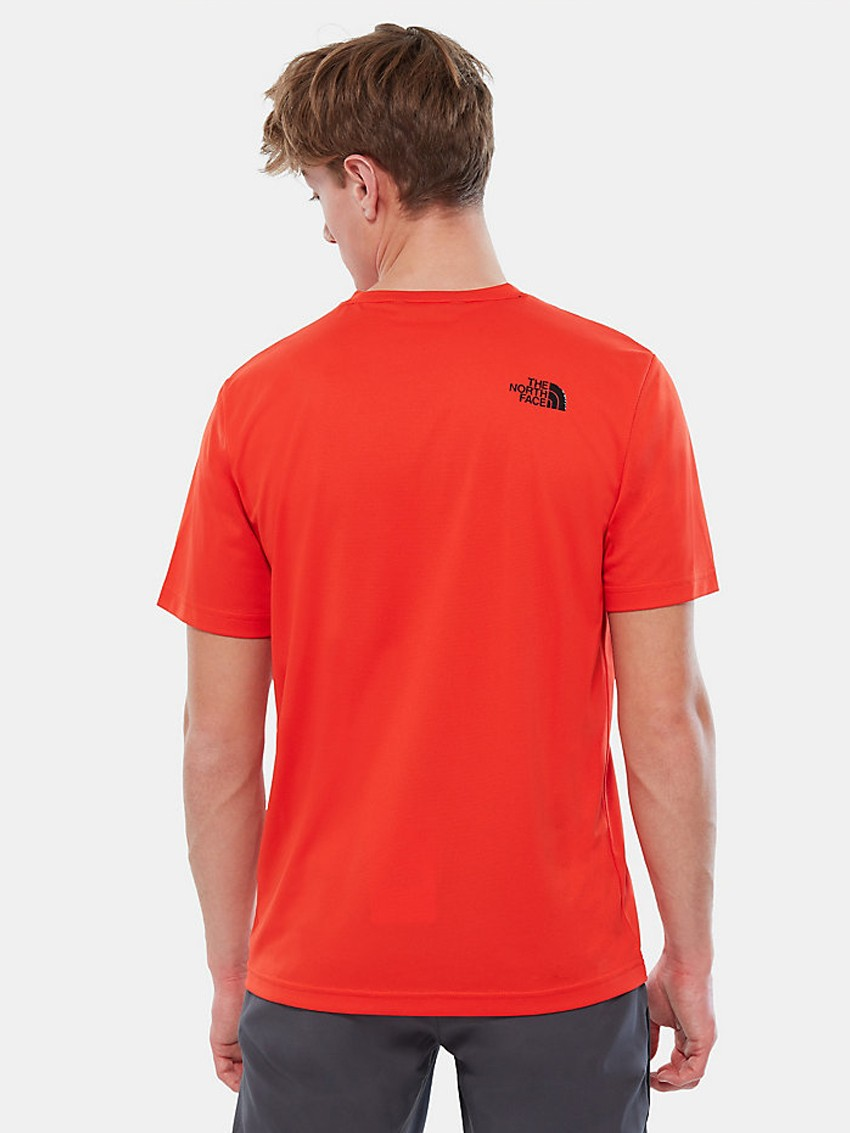 M FLASH TEE FIERY RED
