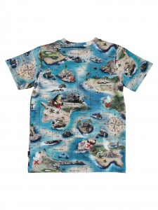 Ralphie T-shirt treasure map