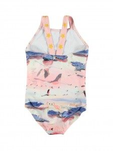 Nakia flamingo costume da bagno