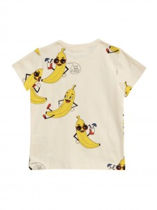 T-shirt banana white