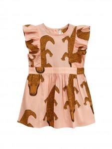 Vestito coccodrillo pink