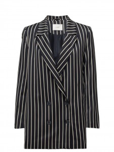 LAURENT STRIPES BLAZER NAVY BLUE