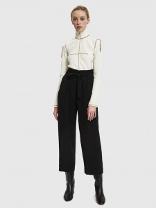 ODETTE TROUSERS BLACK