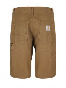RUCK SINGLE KNEE SHORT BERMUDA MARRONE