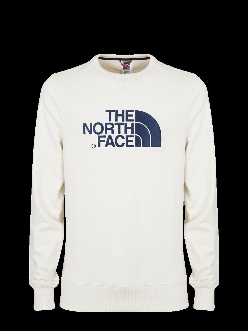 THE NORTH FACE DREW PEAK CREW VINTAGE WHITE