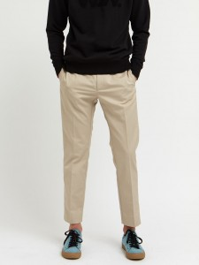 WOOD WOOD TRISTAN TROUSERS LIGHT KHAKI