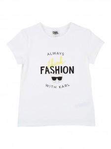 """T-shirt white """"always fashion"""""""