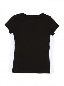 T-shirt black banda KARL