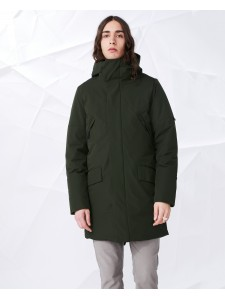 ELVINE zane parka dark sea