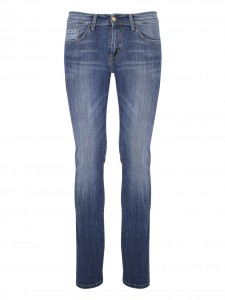 REBEL PANT 98%COTONE 2%ELASTANE BLUE DOCK WASHED
