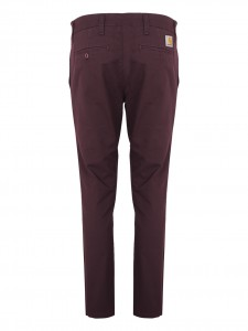 CH SID PANT POLY LAMA - bordeaux Chinos
