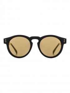 CLEMENT SUNGLASSES METAL SUNGLASSES BLACK GOLD