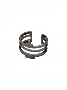 RING HEMATITE COLOUR ADJUSTABLE