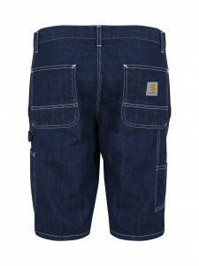 RUCK SINGLE KNEE SHORT BERMUDA JEANS TASCONI DRY BLUE