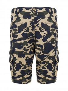 REGULAR CARGO SHORT CAMO DUCK BERMUDA CARGO TASCONI
