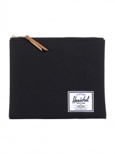 NETWORK LARGE POUCH NERO