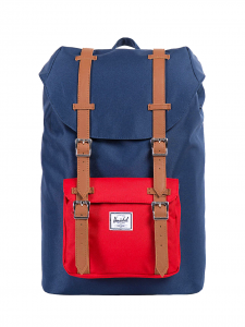 LITTLE AMERICA MID VOLUME NAVY RED ZAINO BLUE ROSSO