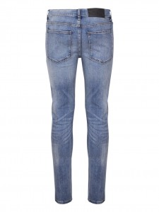 TIGHT WASTELAND JEANS SLIM STONE WASH BLUE
