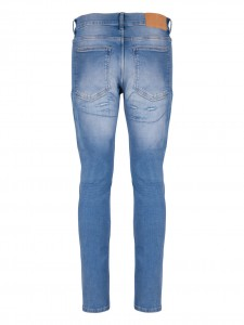 TIGHT BREAK JEANS STRAPPATO