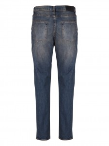 WORK DENIM JEANS SCURO