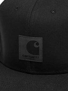 LOGO CAP BLACK CAPPELLO CON VISIERA NERO