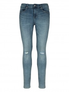TIGHT SKY JEANS SLIM CON ROTTURE BLUE