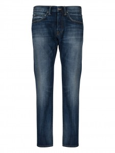 ED 55 JEANS REGULAR TAPARED DARK BLUE