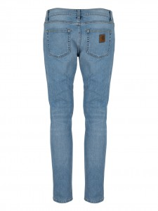 REBEL PANT 98/2 COT/ELAST SPICER BLUE STRETCH BLUE TRUE BLEACHED