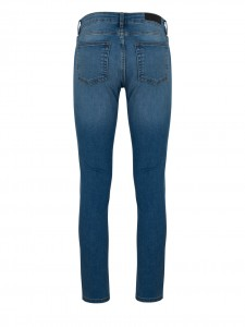 CROPPED SNAP BRAVE BLUE JEANS SKINNY VITA MEDIA BLUE