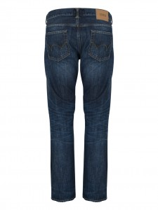 ED 80 SLIM TAPERED DARK BLUE DENIM 12 OZ CONTRAST DARK WASH