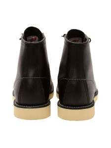 08130 CLASSIC MOC BLACK STIVALETTO IN PELLE NERO