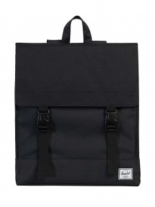 SURVEY BACKPACK BLACK ZAINO NERO