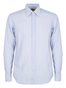 DAVID WAVE CAMICIA CASUAL SLIM AZZURRA