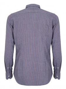 DAVID ROOM CAMICIA CASUAL SLIM ROSSO BLUE