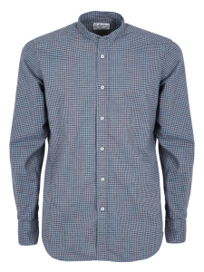 CHICK ROOM CAMICIA COREANA CASUAL SLIM QUADRI