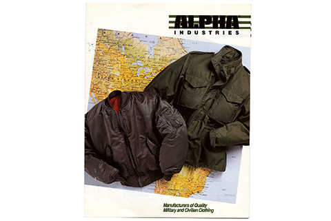 Alpha Industries Storia 1988_Alpha-Catalog