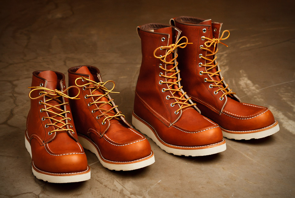 buy popular e861e 2036b Red wing shoes: storia e tradizione di una scarpa americana ...